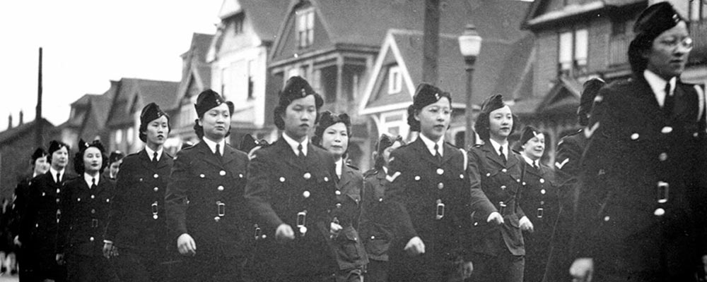 Women Ambulance Corps (gracieuseté du Chinese Canadian Military Museum)