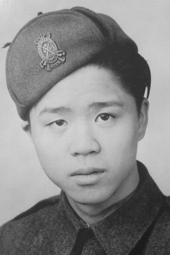 Alex Louie -(gracieuseté du Chinese Canadian Military Museum)