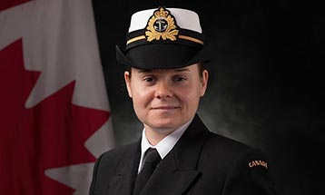Lieutenant (M) (à la retraite) Émilie Létourneau