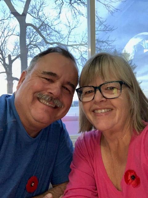 Jo Anne Truskoski et son mari Michael