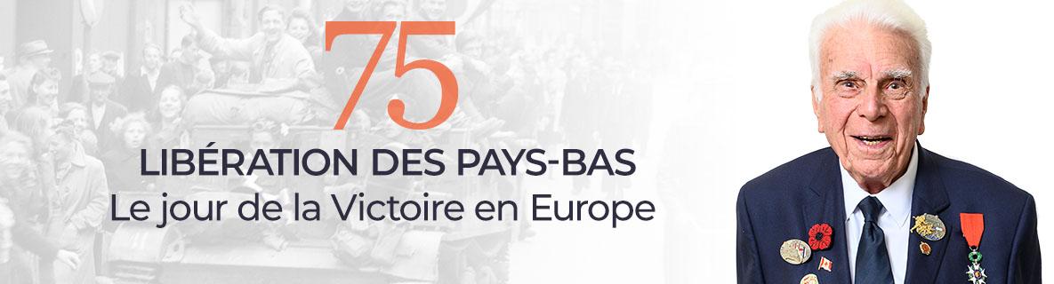 75 libération des Pays-Bas - le jour de la Victoire en Europe