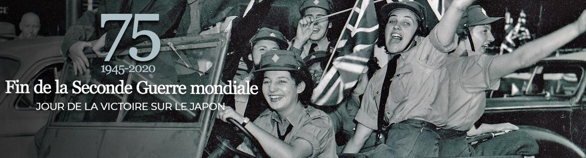 75e anniversaire du jour de la Victoire sur le Japon et de la fin de la Seconde Guerre mondiale