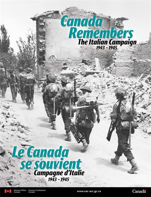 2004 Remembrance Day Poster - The Italian Campaign