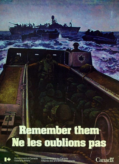 1982 Remembrance Day Poster