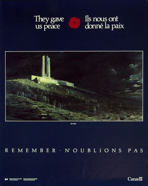 1986 Remembrance Day Poster