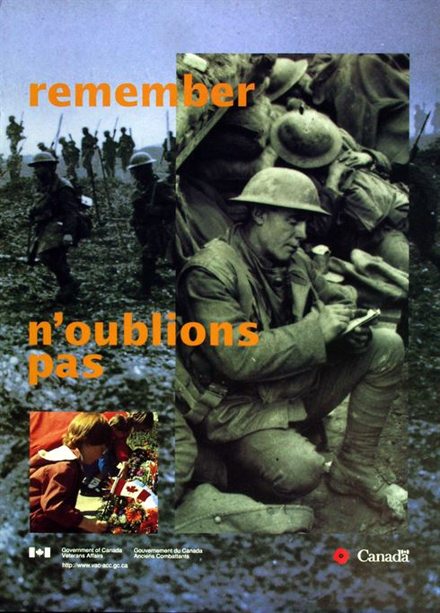 1996 Remembrance Day Poster