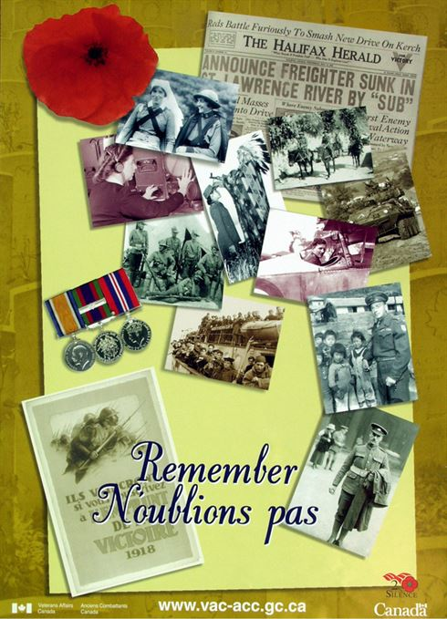 1999 Remembrance Day Poster