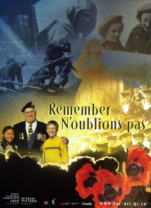 2000 Remembrance Day Poster