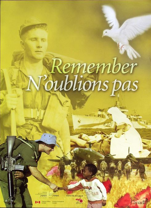 2001 Remembrance Day Poster