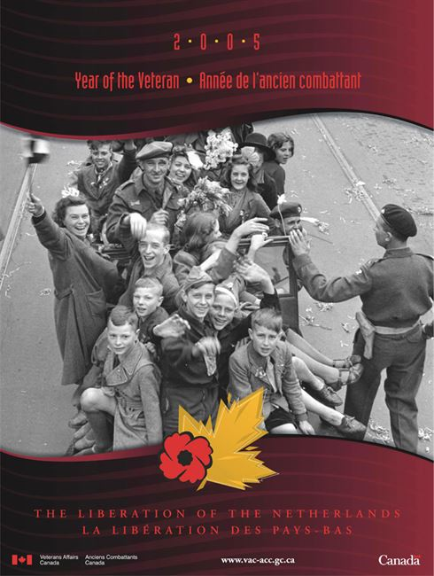 2005 Remembrance Day Poster - Liberation of the Netherlands