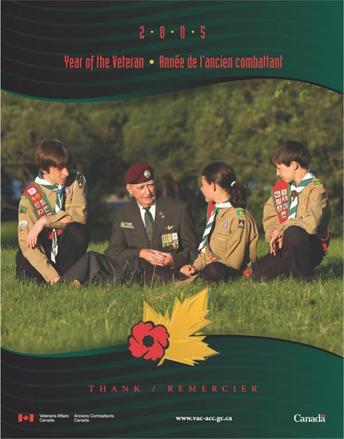 2005 Remembrance Day Poster - Thank