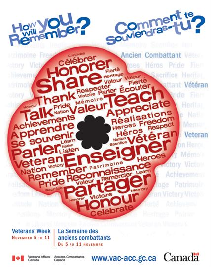 2010 Remembrance Day Poster