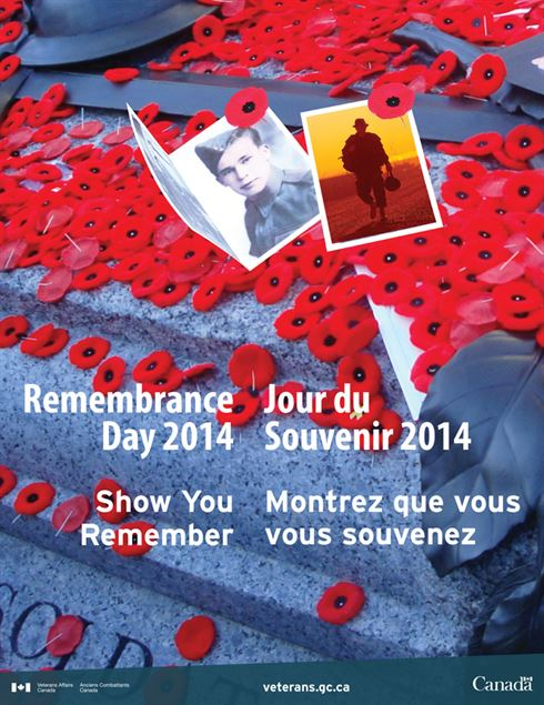 2014 Remembrance Day Poster