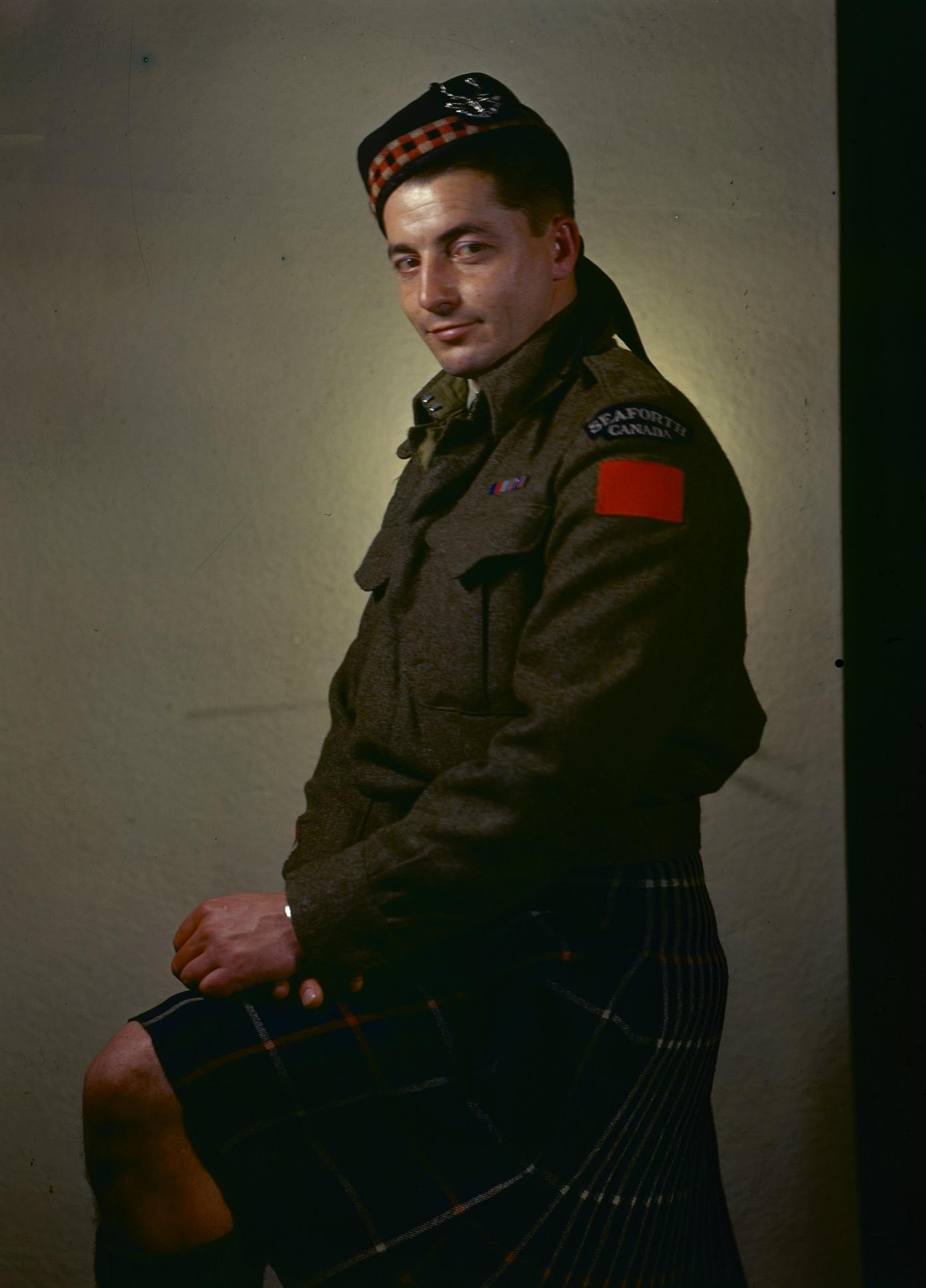 "Sergeant (Ret'd) Ernest ""Smokey"" Smith, VC"