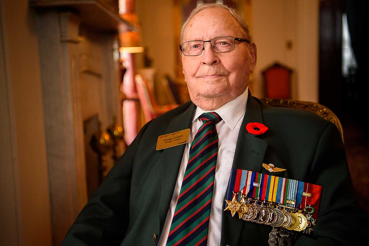 Warrant Officer (Retd) George Couture
