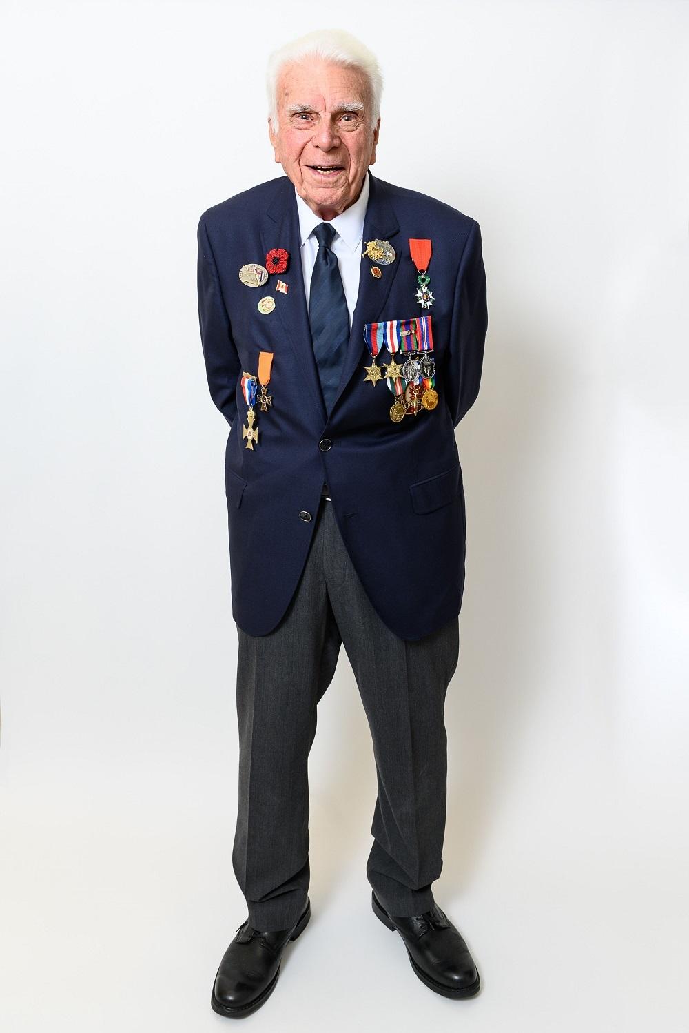 Sergent (retraité) Norman Kirby