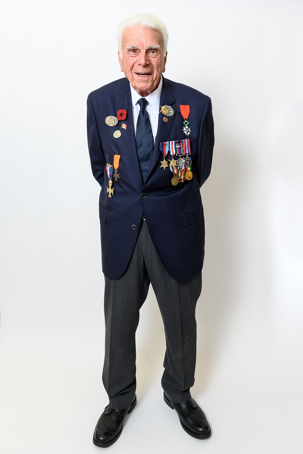 Sergeant (Ret'd) Norman Kirby