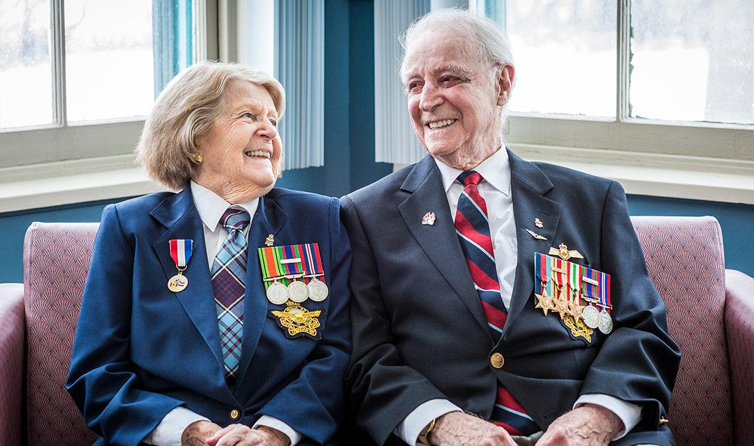 Anne and Howard McNamara
