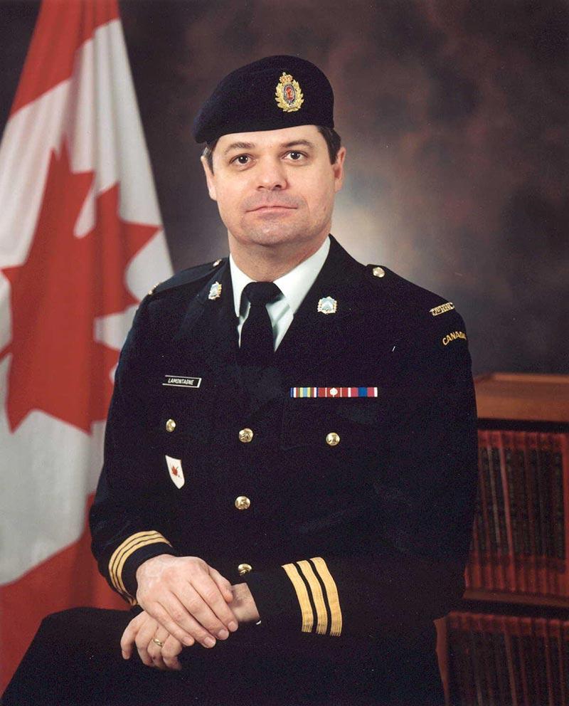 Colonel (à la retraite) Gratien Lamontagne