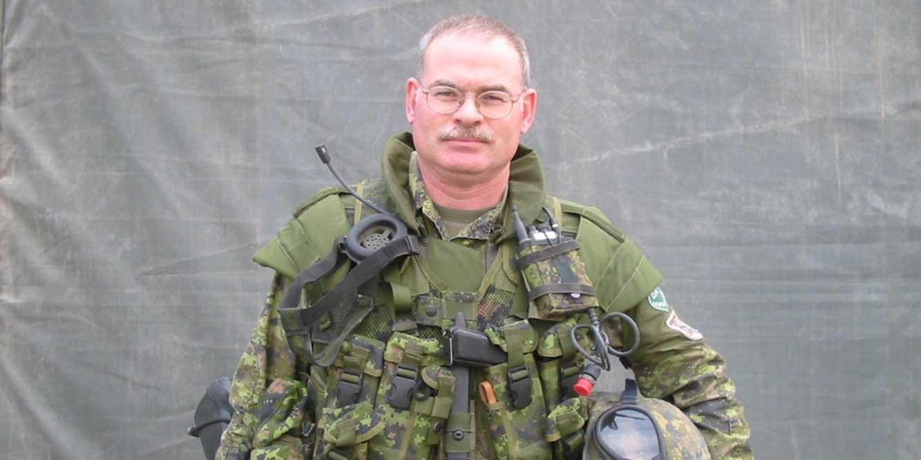 Sergeant-Major (Ret'd) Mark Charlton