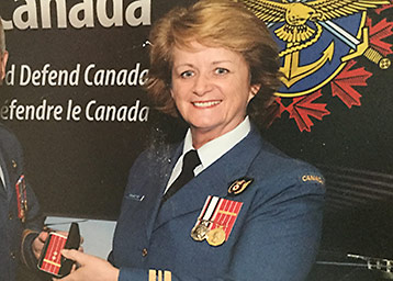 Major (Ret'd) Lynn Doucette