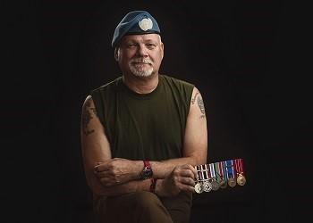 Caporal-chef (à la retraite) Marc Bergeron