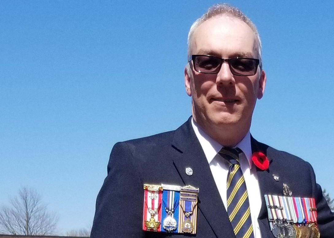 L'adjudant (à la retraite) Robert McDougall