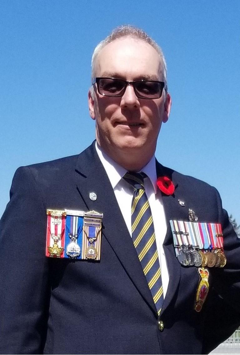 Adjudant (à la retraite) Robert McDougall